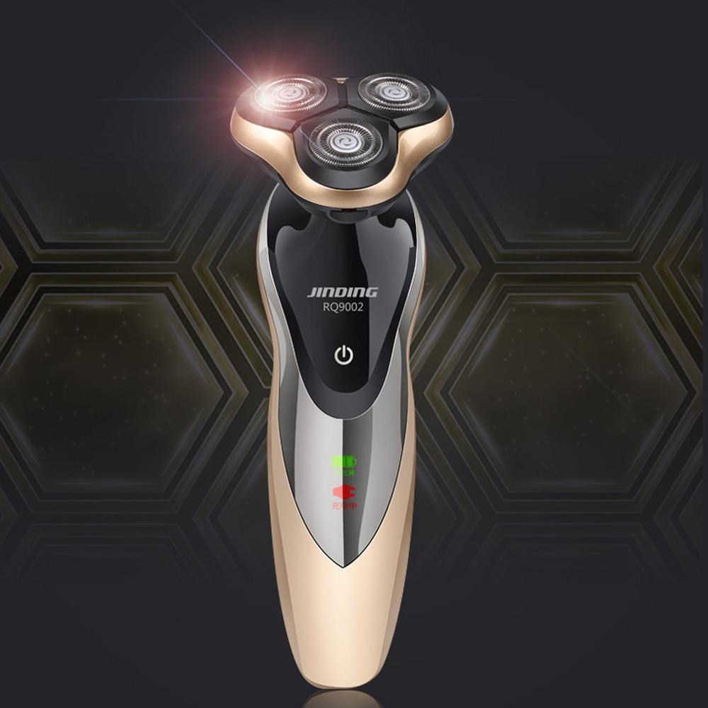 3W USB Electric Shaver 3 Blade Heads Electric Razor Shaving Machine Electric Epilator Face Care RQ9002