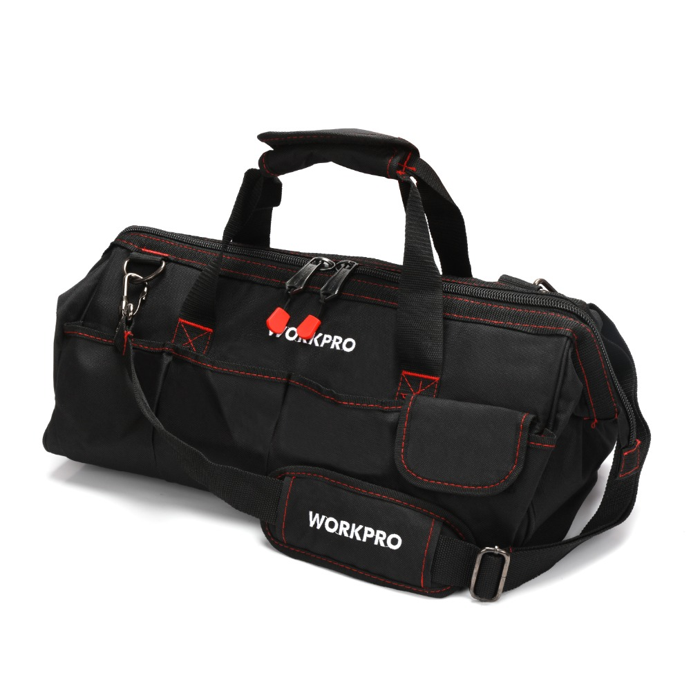 Tool Organizers 13 15 17 19 Upgrade Large Capacity Hand Tool Bag Multi-function Men Crossbody Tool Storage Bag Pouch Home Repair Toolkit