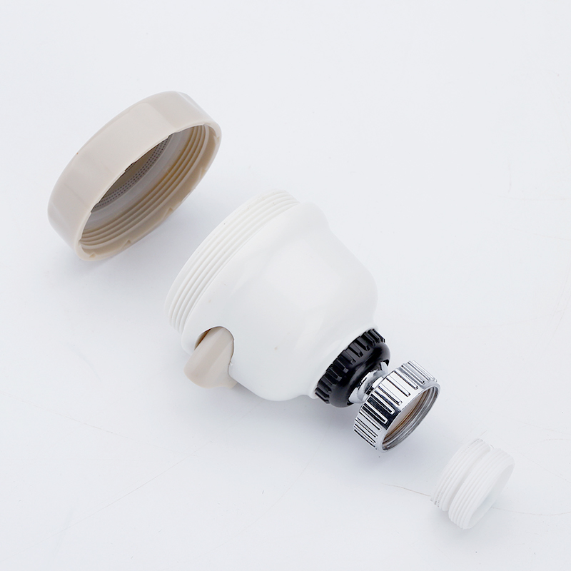 ZhangJi Kitchen 3 Modes 360 Rotatable Tap Faucet Aerator Bubble Flexible Water Saving High Pressure Filter Adapter Sprayer 6
