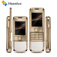 DHL Free Shipping 4G Internal Memory 8800 Arte Gold Nokia Original Refurbished Phone Camera 3 15MP