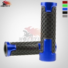 7/822mm Universal Motorcycle Accessories Colors Available Handlebar Grips Aluminum plastic Motorbike Scooter Handle Bar Grip