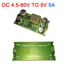 TPS54560 DC-DC przetwornica 4.5V-60V do 5V 19V 24V zasilacz samochodowy moduł 12V 36V 48V regulacja napięcia