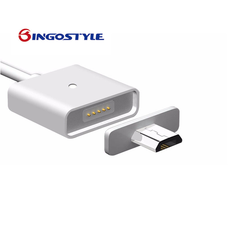 2017 hottest 1 pcs 2.4A Android Micro USB Charging Cable Magnetic Adapter Charger Apply to Most Phone Tablet With Micro USB Port