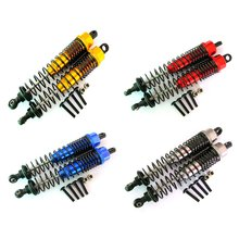 1 pair 108Mm 1/10 Remote Control Car Four-Wheel Drive Truck Front And Rear Metal Shock Absorber Hardware Accessories