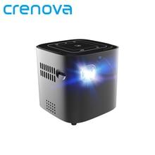CRENOVA новые DLP проектор Android 7.1.2OS Wi Fi Bluetooth для Full HD 1080 P дома театральный фильм портативный проектор