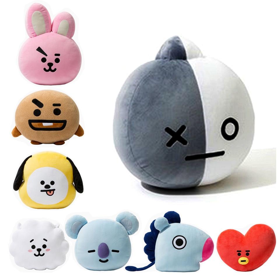HOT Kpop Home Bangtan Boys BTS Monster Vapp Bt21 Same Pillow Warm Bolster Q Back Cushion