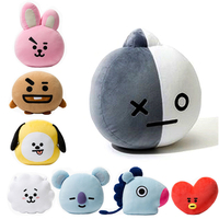 HOT Kpop Home Bangtan Boys BTS Monster Vapp Bt21 Same Pillow Warm Bolster Q Back Cushion