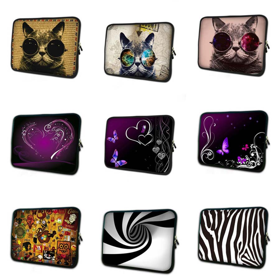 wolf print tablet case 7 waterproof laptop sleeve 7 9 soft notebook Protective Skin mini PC bag cover for mipad 2 TB 23524 in Tablets e Books Case from Computer Office
