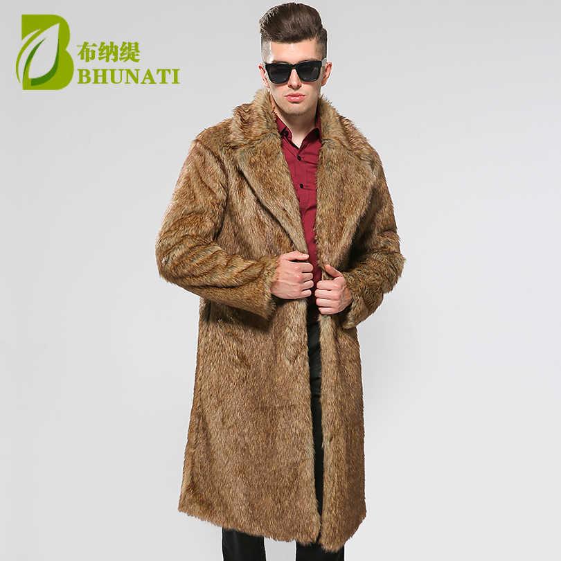 BHUNATI Mens Faux Fur Coats Jacket Fur Men Black Yellow 6XL Thick Fake Fur  Coat Men Long Jacket Faux Fur Leather Coats For Men|coat for men|coat  mencoat men long - AliExpress