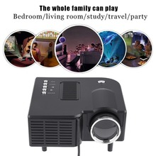 UC28 Mini projector HD home 1080P micro portable led projector LCD Display Technology for home  entertainm conference system