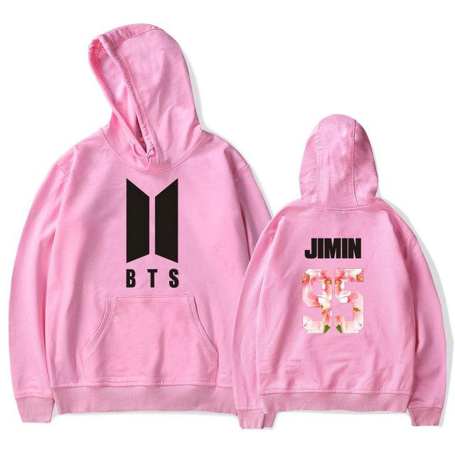 BTS Logo Sweater Hoodie Sweatshirt Pullover