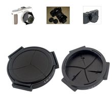 лучшая цена Auto Retractable Lens Cap Self Open and Close Lens Cover Protector for Panasonic LUMIX DMC-LX7GK LX7 Camera Accessories
