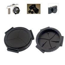 Auto Retractable Lens Cap Self Open and Close Cover Protector for Panasonic LUMIX DMC-LX7GK LX7 Camera Accessories