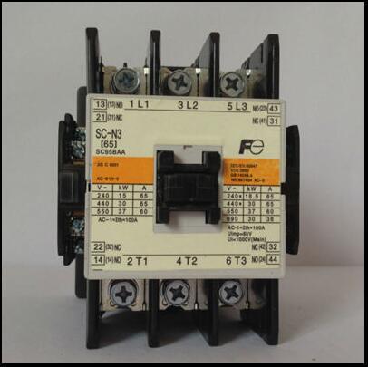 [SA][original] Fuji  JAPAN AC contactor SC-N3  AC110V ac contactor 152a 220v sc n7