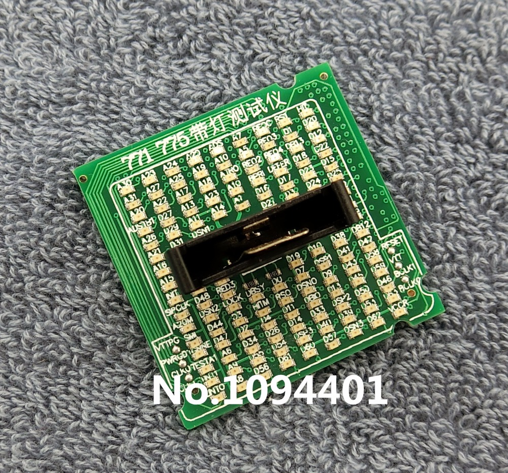 1pcs* Brand New Desktop CPU 775 771 Socket Tester CPU Socket Analyzer Dummy Load Fake Load with LED desktop cpu 939 socket tester cpu socket analyzer dummy load fake load with led