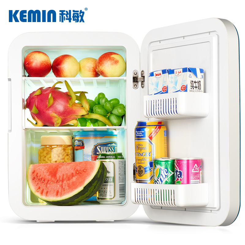 18/20/25L Mini Refrigerator Home Car Dual-use Digital Dual-core Fast Cooling Portable Fridge Small Cooler Box Camping Freezer