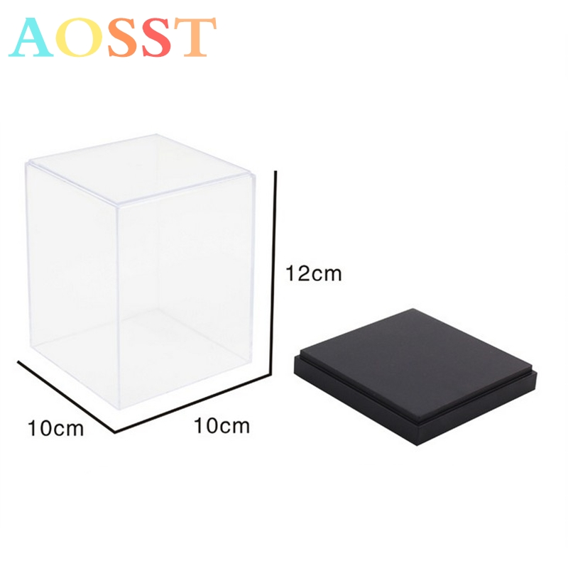 US $9 92 10% OFF|Gundam Storage Box Model Accessories Clay Garage Kit  Display Cabinet Action Figures Dust Cover-in Action & Toy Figures from Toys  &