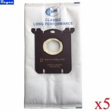 Оптовая продажа; 5 штук в упаковке сумки фильтр мешок пылесос пригодный для fc8020 fc8130 fc8350 fc8404 fc9000 серии hr8300 вселенной и т. д.