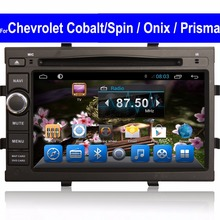 Android Car Radio for Chevrolet Cobalt Spin Onix Prisma GPS Navigation Touch Screen 2 Din DVD Player with WIFI BT OBD Car Stereo