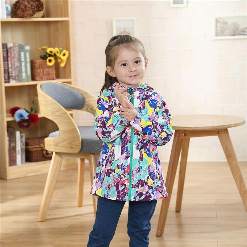 Winter Child Coat Waterproof Windproof Baby Girls Jackets Children Outerwear Warm Polar Fleece For 3-12T