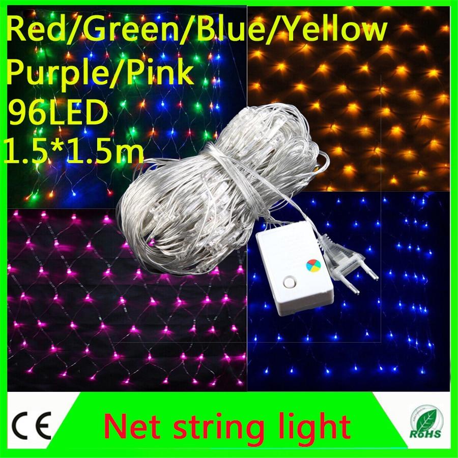 Garland String 3 * 2 M Netto String Licht 200led Mesh Fairy Lights - LED-Verlichting - Foto 2