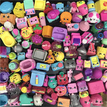 100pcs Random shop lps doll playset house game Anime Action Figures Girl Toys Model Min Gift No duplicate