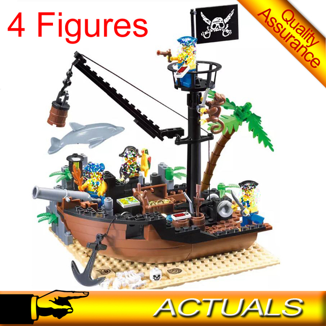 Compatible With Lego Pirate Ship Enlighten 306 City Pirates Of The
