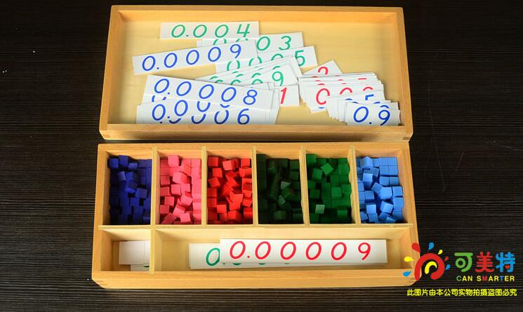 Montessori Materials Counting  Points Game Cubes Contrast Box Beech Wood Math Tools Early educational Can Smarter manual stainless steel potato slicing machine commercial tornado spiral potato chips cutter