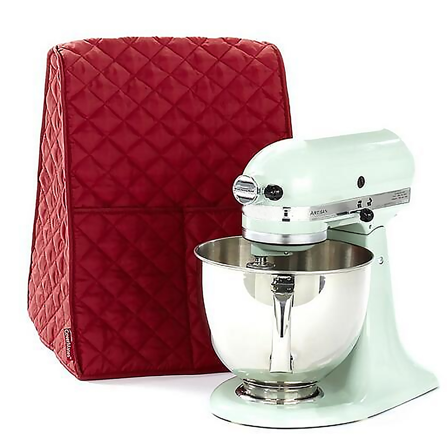 Dustproof Protective Cover With 2 Front Pockets For Kitchenaid Stand Mixer Home Apartment Restaurant Office