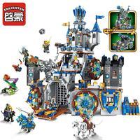 להאיר טירת אבירי הקרב 9 דמויות מודל סדרת מלחמת בונקר של תהילה 1541 יחידות לבנים חינוכיים צעצוע לילד מתנות