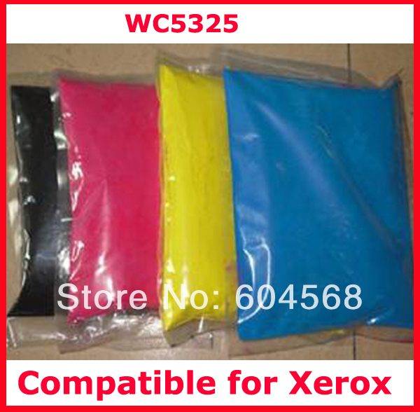 High quality color font b toner b font powder compatible for Xerox WC5325 C5325 5325 Free