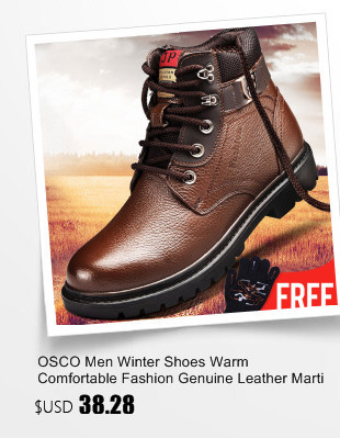Ideal OSCO Mode Männer Winter Martin Stiefel Männlich