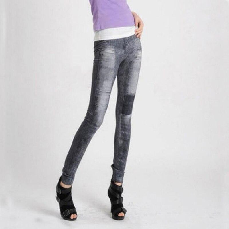 4f2ed8c6c34e9 Women Skinny Jeans High Waist Patch Denim Pants Vintage Casual Women  Trousers Leggings Jeans Plus Size Push Up Summer 2018 – Rebelwear