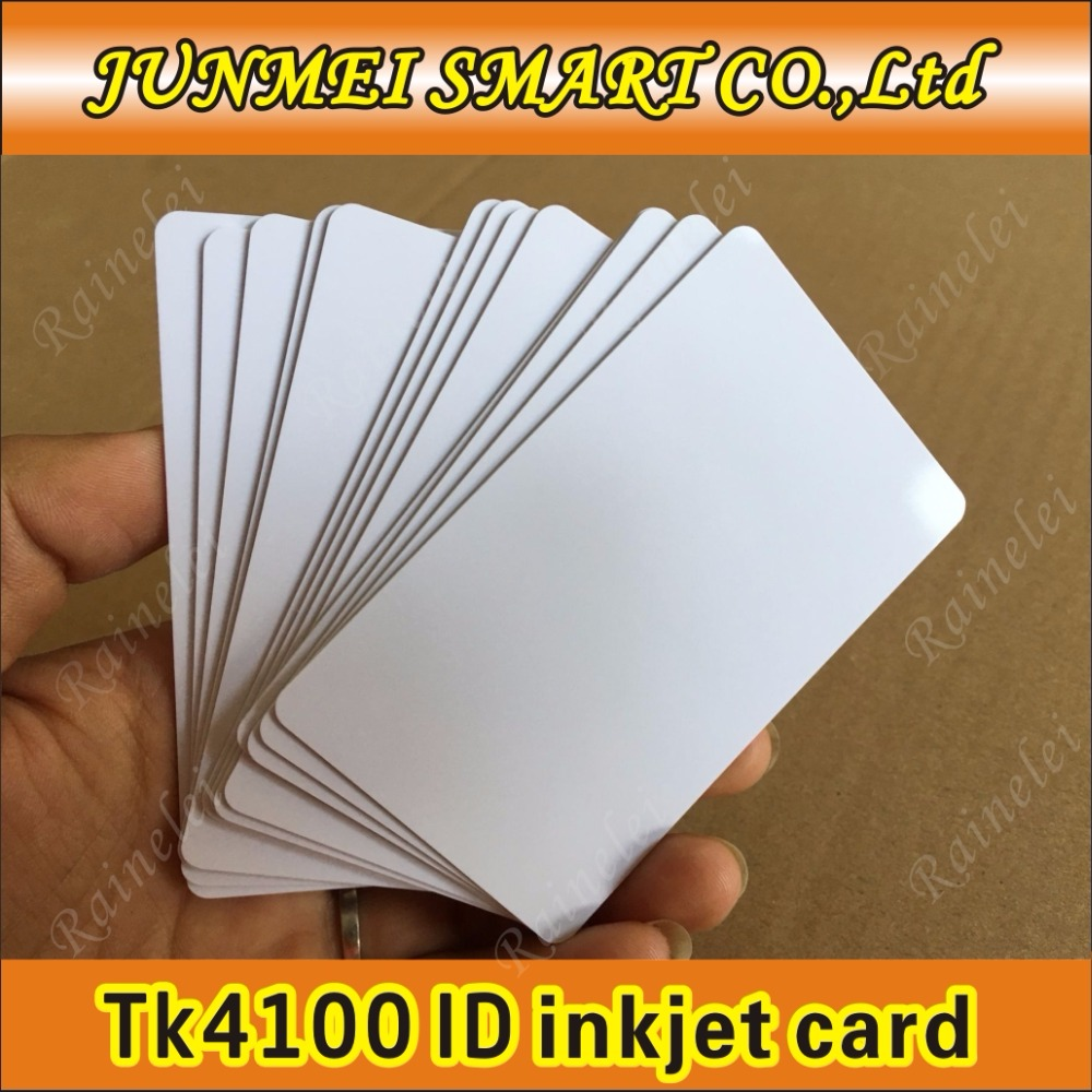 300pcs Free Shipping 860-960mhz Alien H3 Uhf Rfid Inkjet Cards Security & Protection