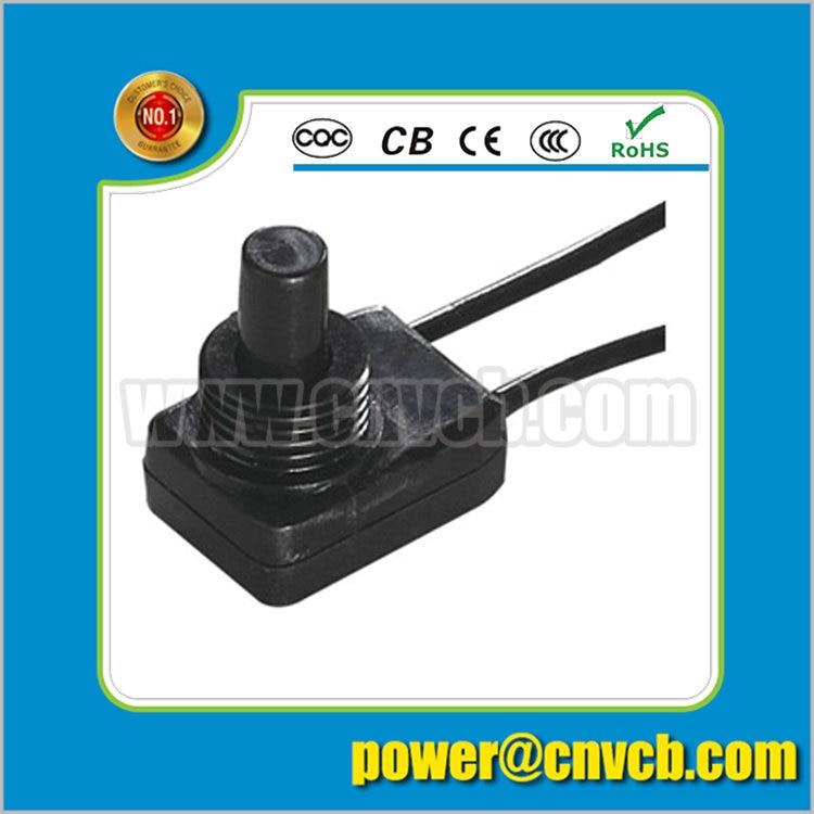 NS308 PBS-104B flashlight long terminal on off push button switch