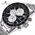 Montre homme relógios dos homens do esporte multifuncionais mergulho à prova d' água 30 m marca de relógios de quartzo relogio masculino 2016 pagani design