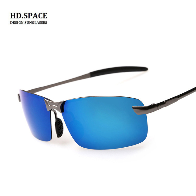 c14d54ff5eeaa sunglasses men polarized aluminum magnesium HD Polaroid High quality men  polarized sunglasses lunettes de soleil homme