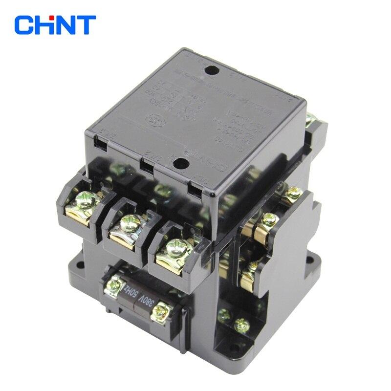 CHNT CJT1-40A 380V 220V AC contactor contactor выключатель chnt cnht lw112 16 1