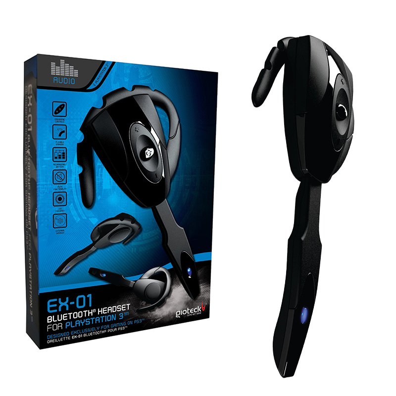 Gioteck EX 01 Gaming Wireless Bluetooth Headset With Microphone Game Earphone For PS3