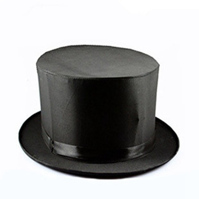 1PCS Professional Folding Top Hat Spring Magic Trick Good Quality Magician  Props Magic Hat Close Up d88d9e2eb0ee