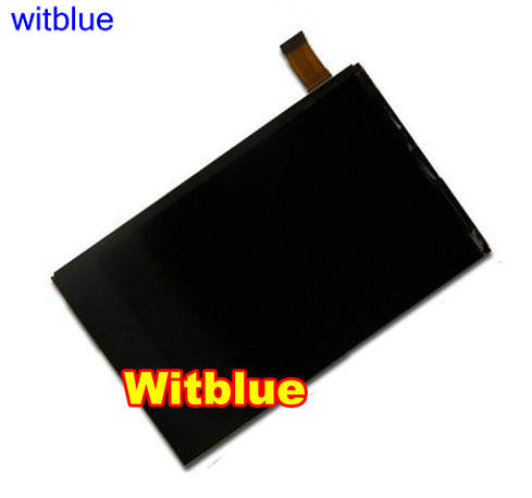 Witblue New LCD Display Matrix For 7 Prestigio MultiPad PMT3777X Wize 3777X 3G Tablet LCD screen panel Module Replacement