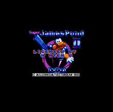 Super James Pond II 16 bit Big Gray Game Card For NTSC Game Player Drop Shipping