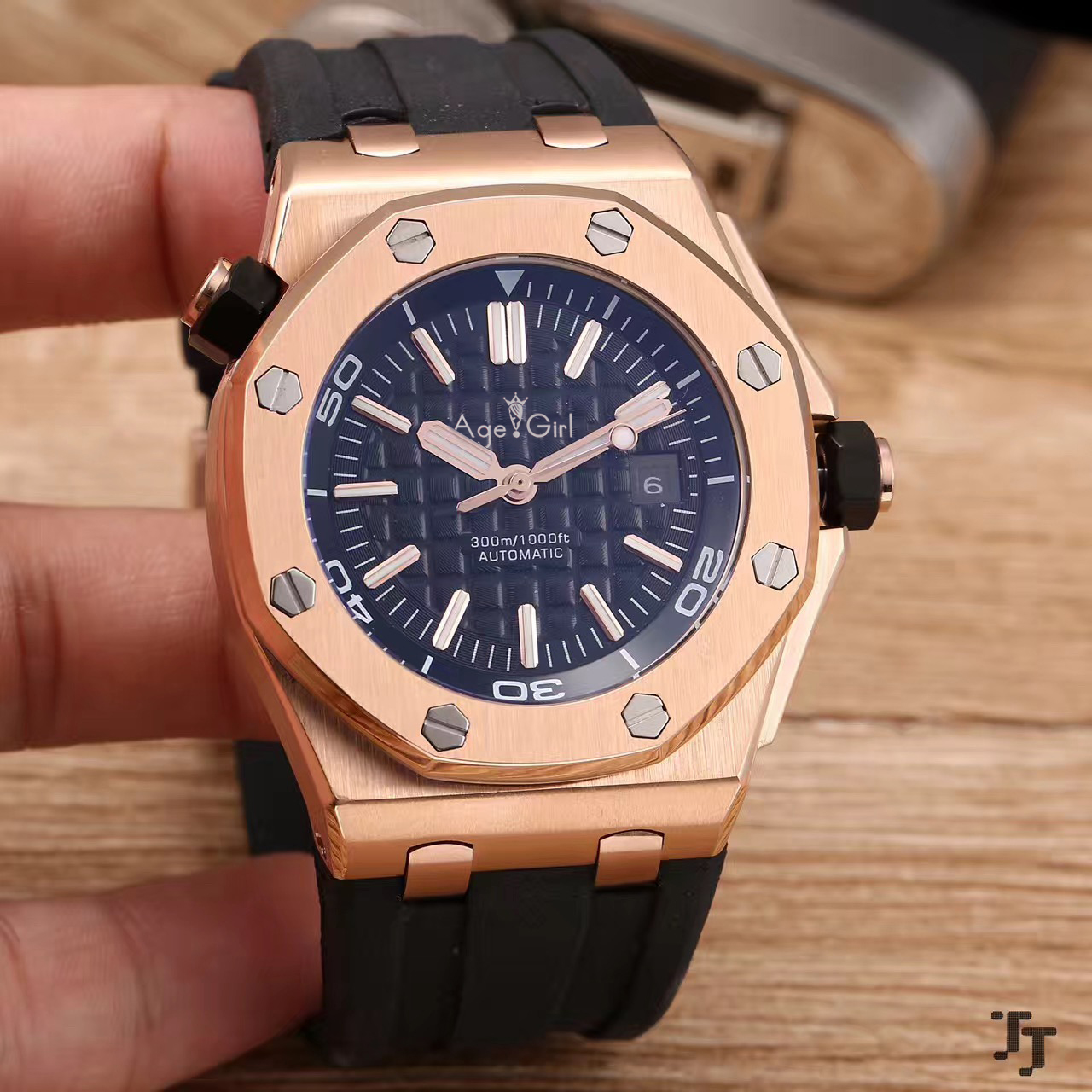 Luxury Brand New Men Stainless Steel Automatic Mechanical Watch Diver Sapphire Sport Watches Black Rubber Rose Gold Grey LimitedLuxury Brand New Men Stainless Steel Automatic Mechanical Watch Diver Sapphire Sport Watches Black Rubber Rose Gold Grey Limited