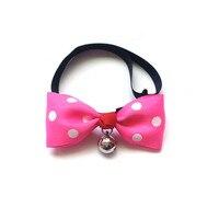 Hot Selling Adjustable Dog Cat Bow Tie Pet Necklace Pet Ornament Cute Pet Collar Accessories 100pcs/lot