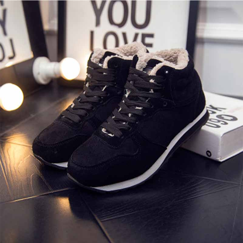 2018 Shoes Fur Inside Vulcanize Shoes For Winter Sneakers Me