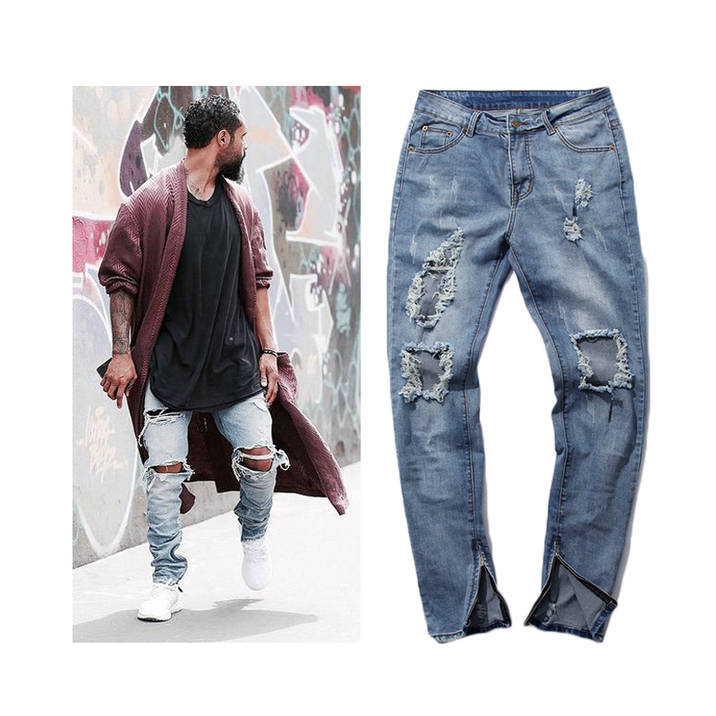 Aliexpress.com : Buy big hole high quality kanye west brand style ...