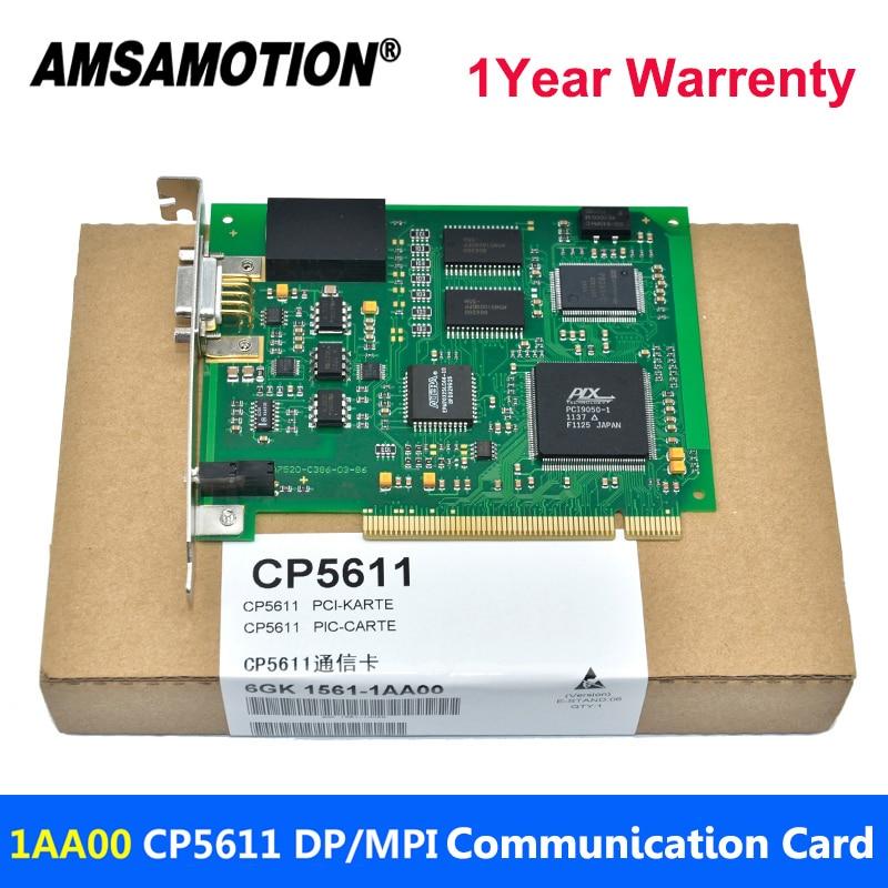 Amsamotion CP5611 PCI PROFIBUS/MPI/PPI Card 6GK1561-1AA00 Communication Card инвертор siemens profibus 6se6400 1pb00 0aa0