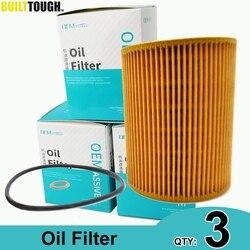 QTY 3, Oil Filters 11427512300 For Alpina B3 BMW 325Ci 330Ci 330i 330xi 530i 728i,iL X3 X5 Z3 Z4 E36 E39 E46 E53 E60 E65 E85