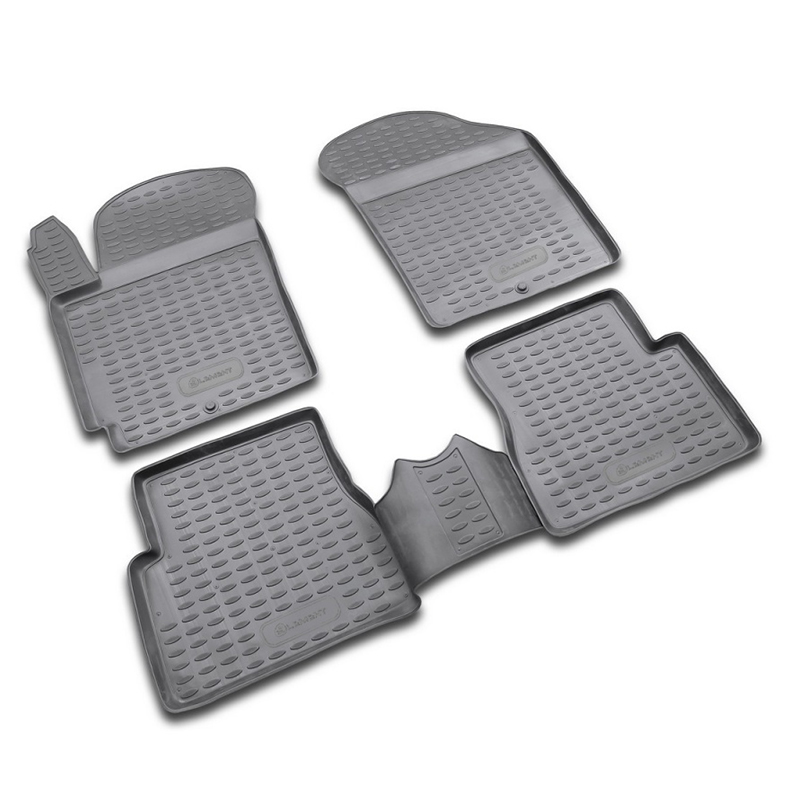 Carpet mats interior For KIA Cerato 2004-2009, 4 PCs (polyurethane) цена