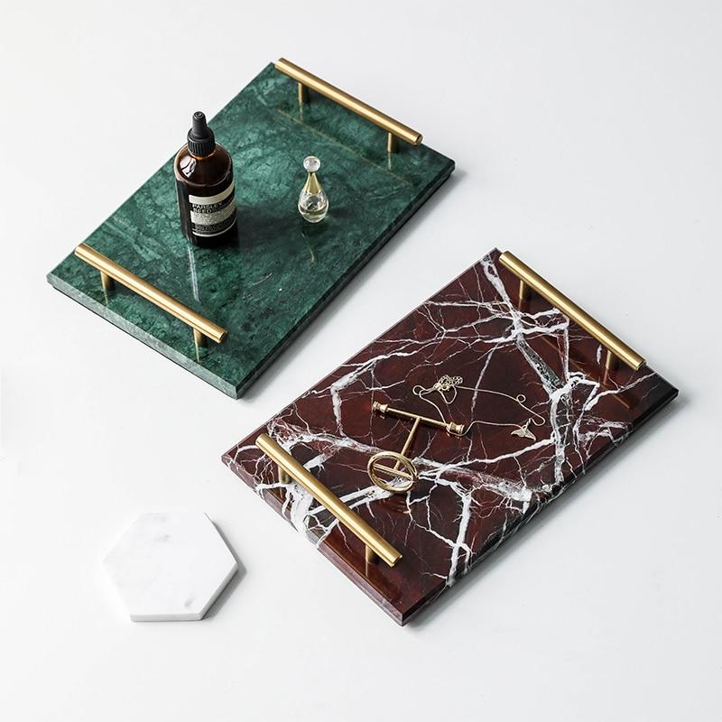 Naturalny marmur Taca West Point talerzyk deserowy stół huśtawka płyta do przechowywania strona główna deska do krojenia owoców w Tace od Dom i ogród na  Grupa 1